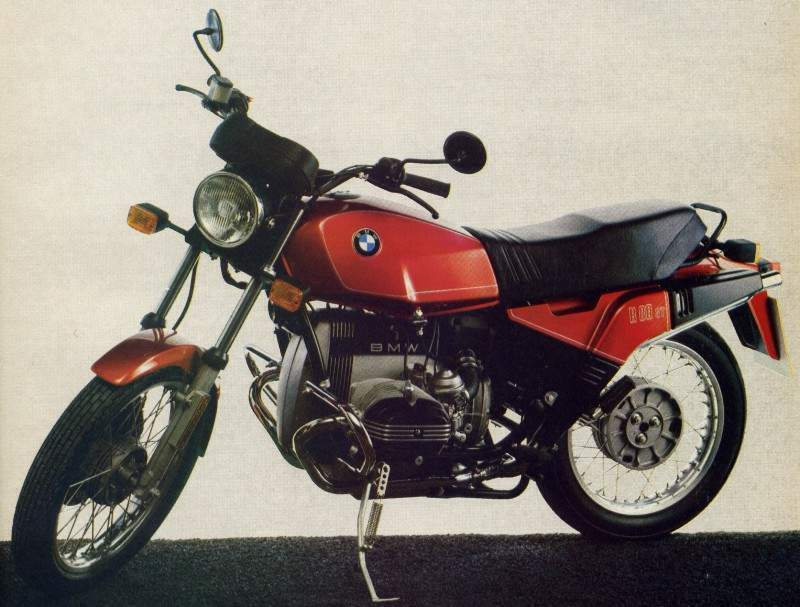 BMW R 80ST technical specifications